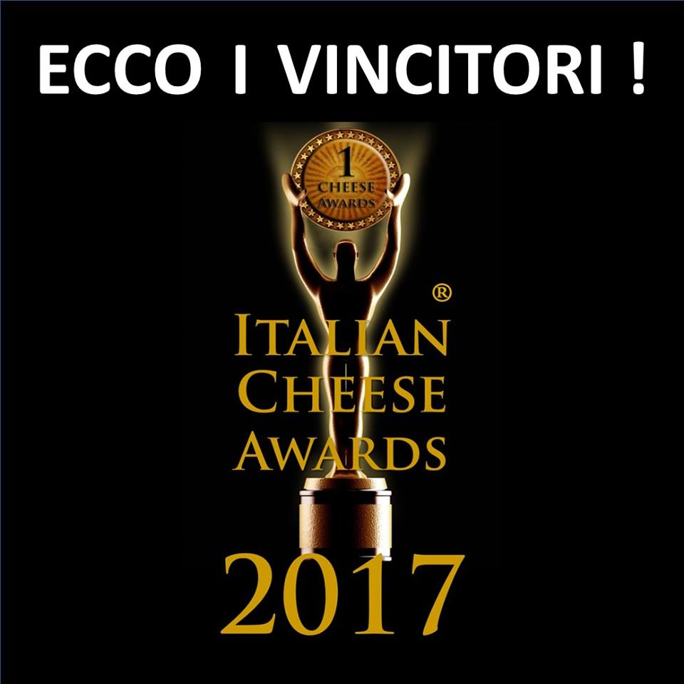 Vincitori Italian Cheese Awards 2017
